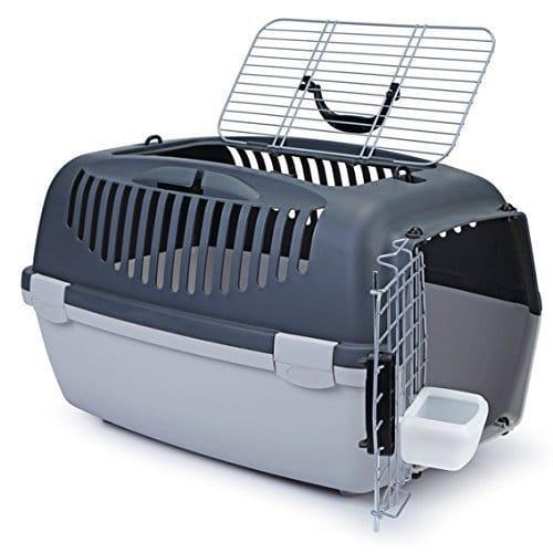 Hunde und Katzen Transportbox 'Gulliver Top' 61x40x38 cm (Foto: Amazon)
